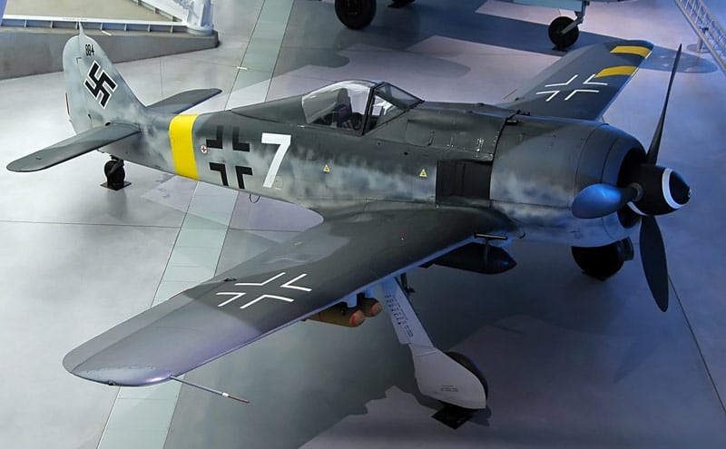 Restored Fw 190F-8 at the Smithsonian