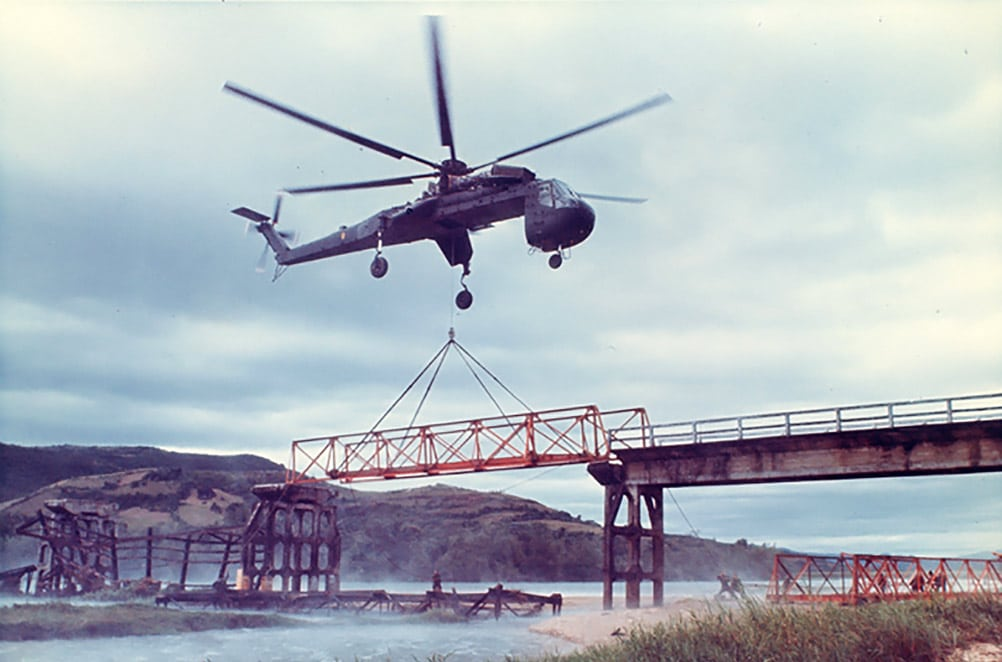 Sikorsky CH-54, a definitive skycrane model