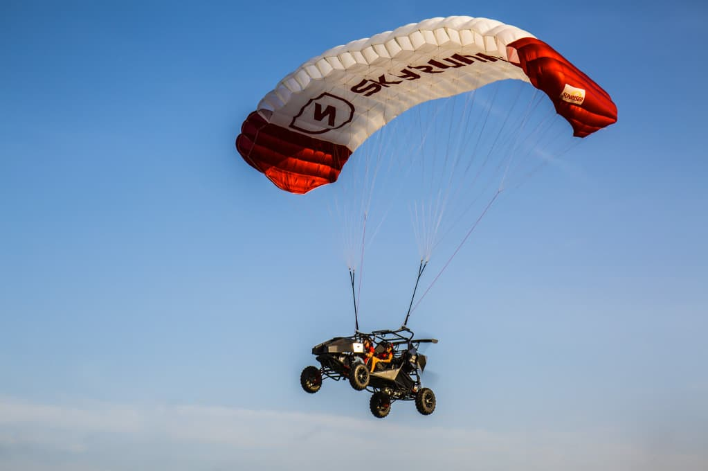 SkyRunner in flight mode