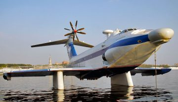 The A-90 Orlyonok Ekranoplan: A Soviet Sea-Skimming Plane