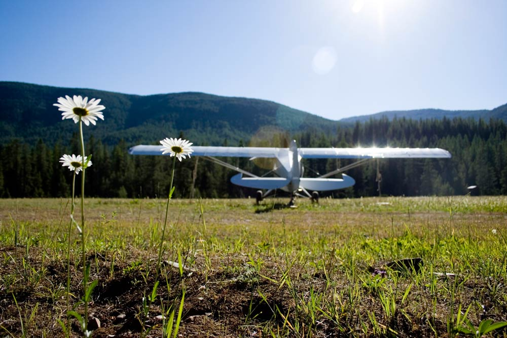Airplane in the Montana backcountry - Pilots Urged to Comment on the Revised Helena-Lewis and Clark National Forest Plan