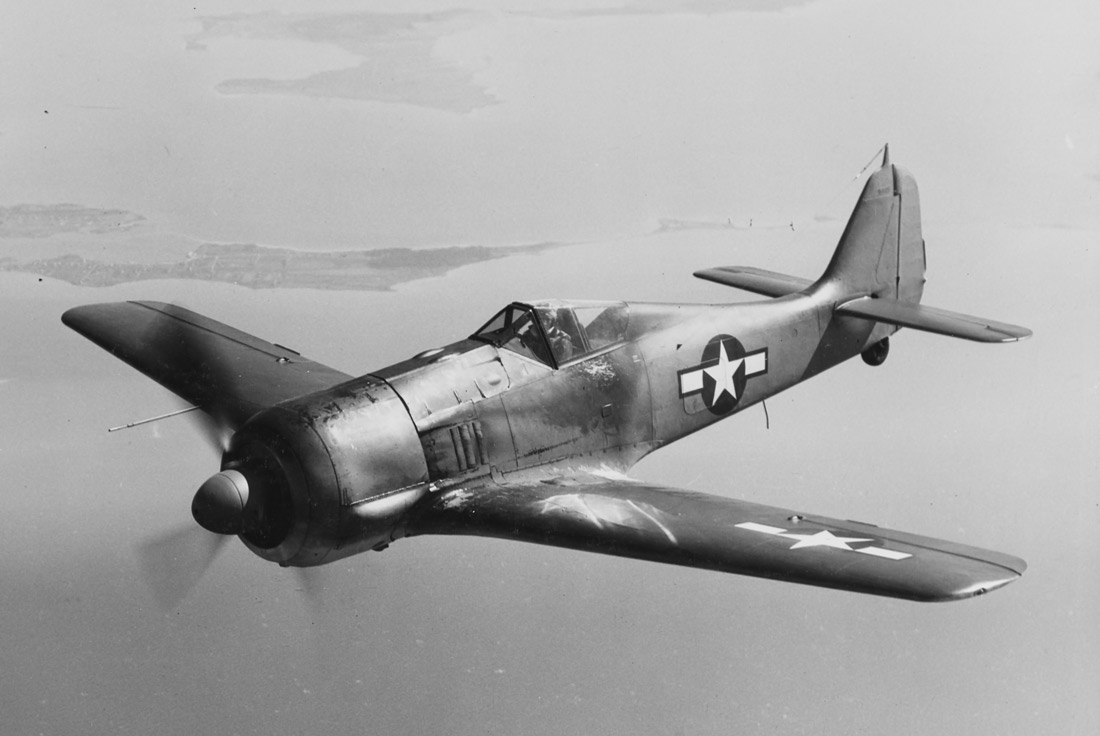Focke-Wulf Fw 190 A-5 in flight