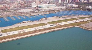 meigs field after it was bulldozed