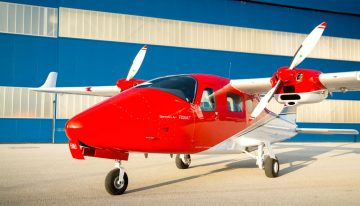 200th Tecnam P2006T Twin Delivered