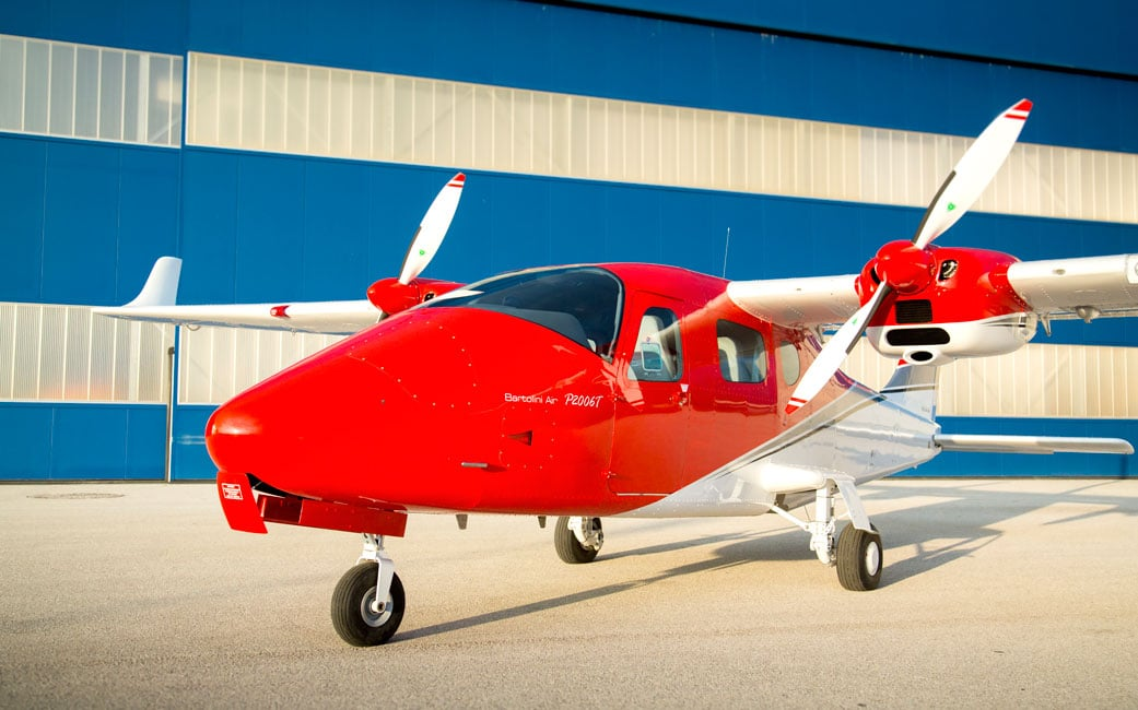 200th Tecnam P2006T delivered