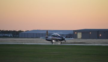 Advent Anti-Skid Braking System Receives STC for T-6 Texan II