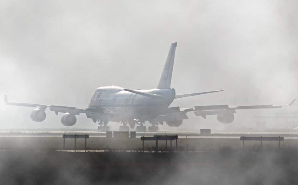 A KLM Boeing 747 similar to the one involved in the Tenerife Airport Disaster