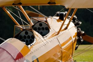 us navy 399 boeing-stearman model 75 cockpits