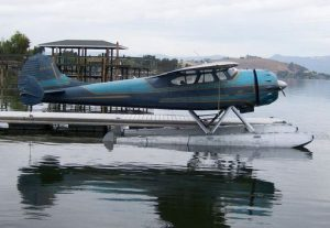 cessna 195 businessliner on floats