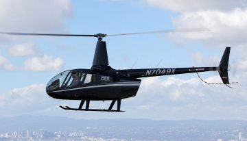 FAA Approves Inlet Barrier Filter For Robinson R66