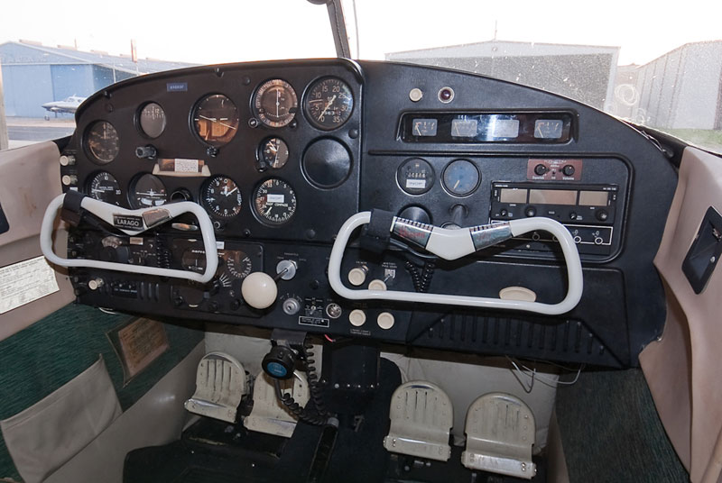 1958 Cessna 172 interior - My Most Memorable Flight: Omaha to Houston in a 50 Dollar Plane