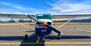 the cessna skyhawk i flew to reno-stead airport