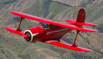 The Beechcraft Model 17 Staggerwing: Adding Swagger to the Pilot