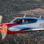 Mooney Acclaim Ultra in flight - Mooney Acclaim and Ovation Ultras FAA Certified