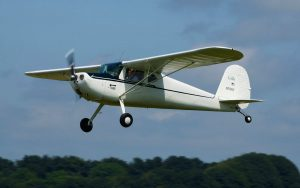 cessna 120 flying in the UK