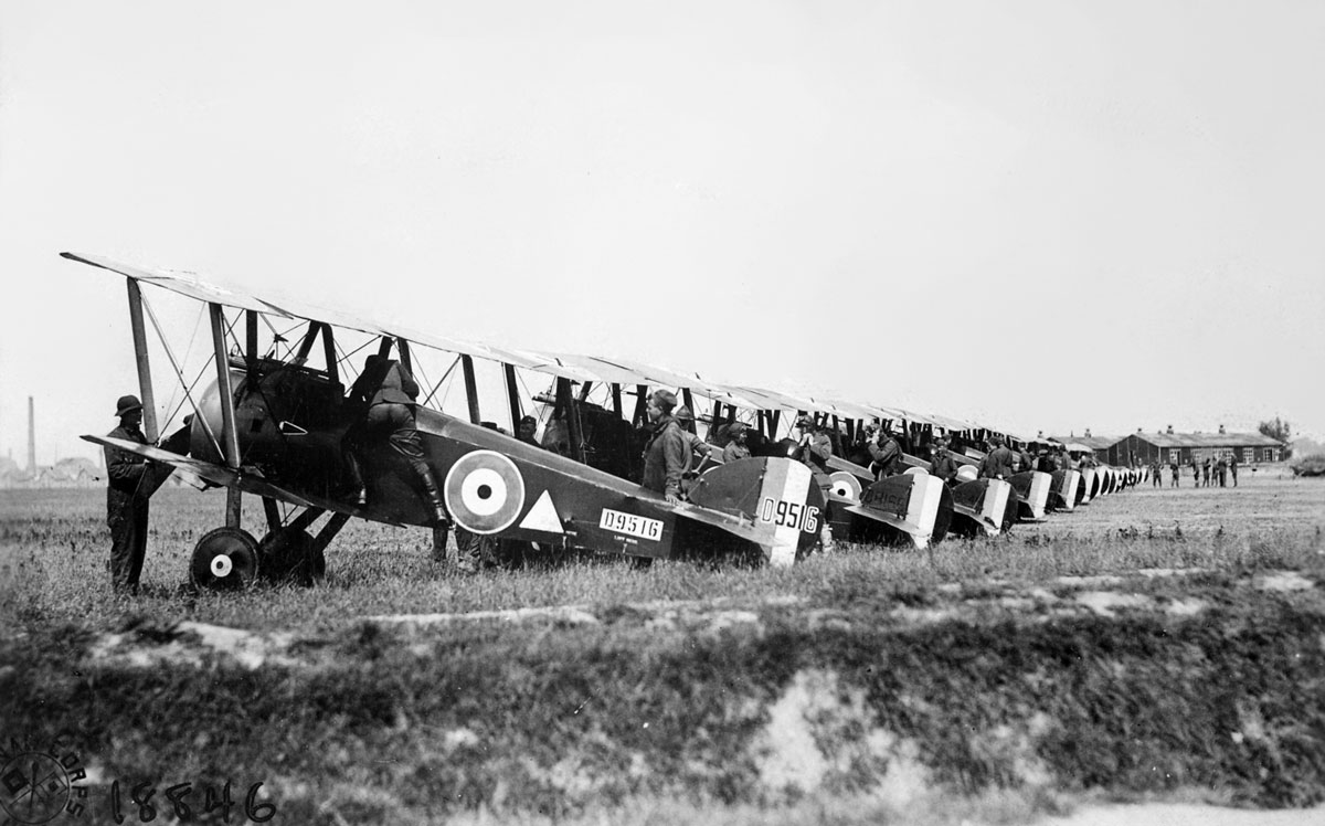 The F.1 Sopwith Camel: The Unruly Stallion of WWI