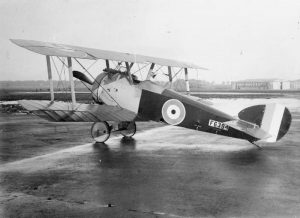 sopwith camel parked