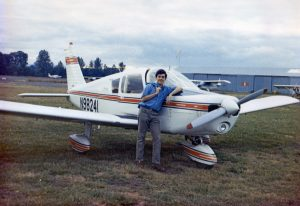 a student pilot defeating the learning plateau