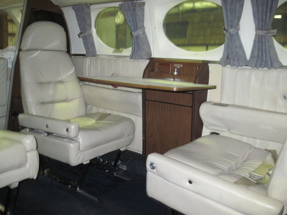 Textron Financial to Auction 1976 Cessna 421C and 2002 King