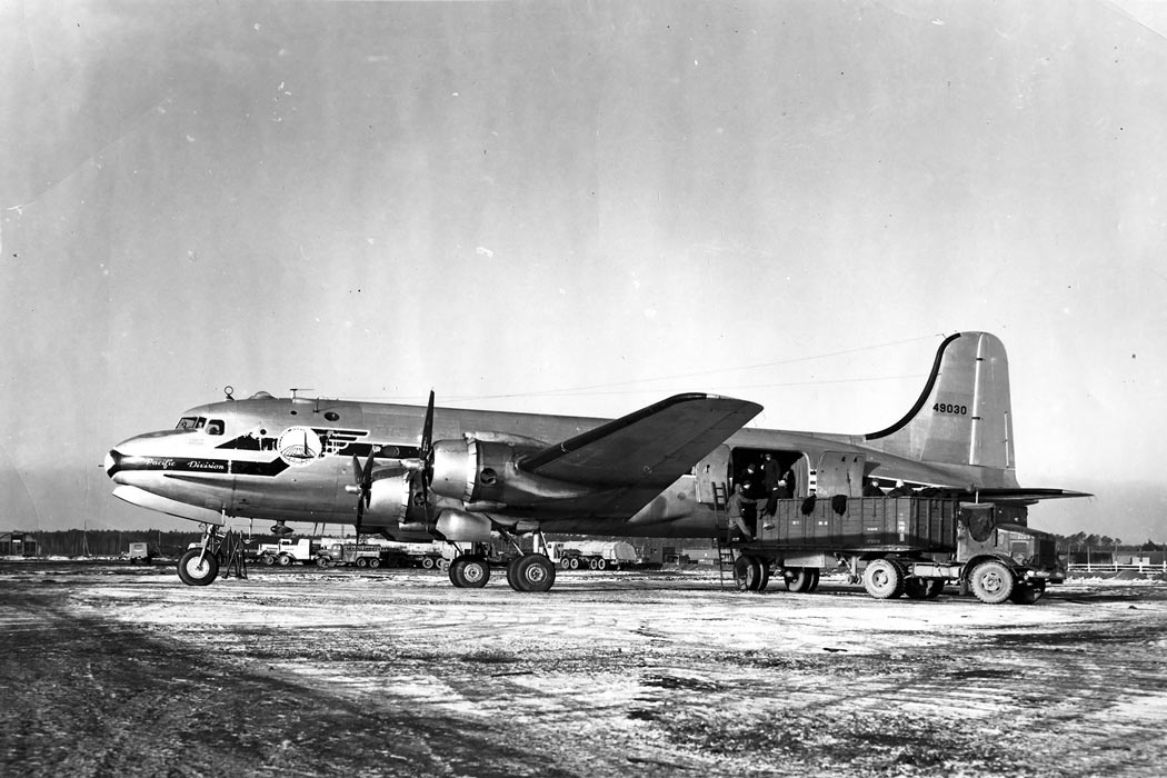 C-54 Skymaster - Aircraft of the Berlin Airlift