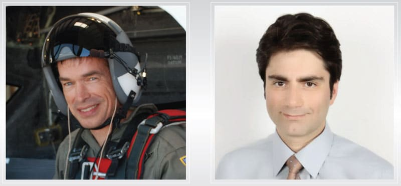 Photo of Jon Karkow and Cagri Sever, who perished in a tragic accident in an ICON A5 aircraft