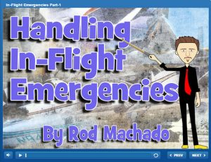 elearning course on in-flight emergencies