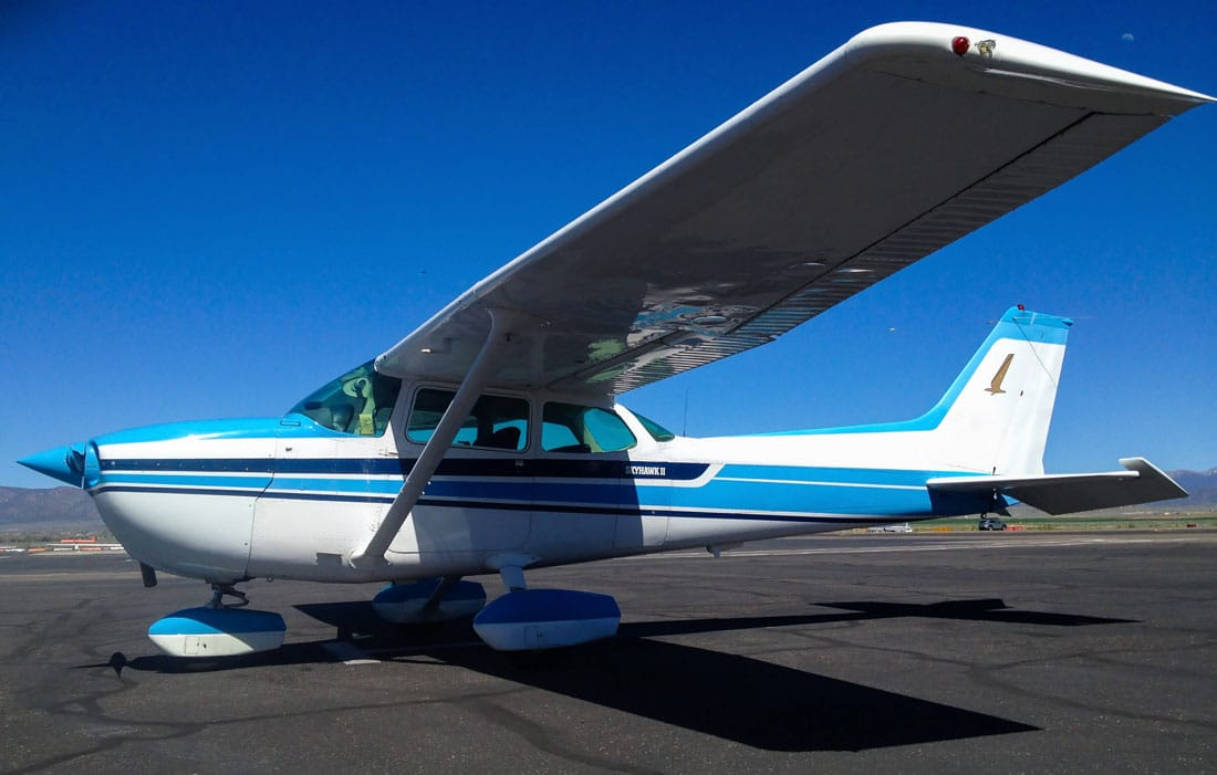 Cessna 172 Skyhawk, able to have an aircraft parachute recovery system