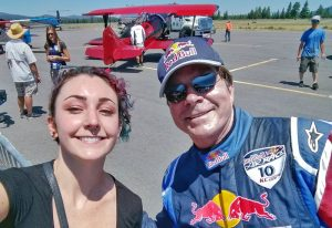 Kirby chambliss encouraged me to take my first aerobatic flight