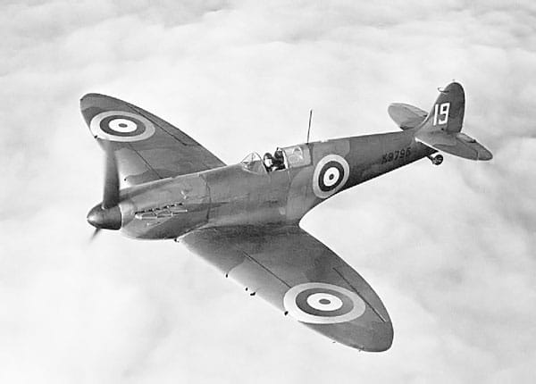 K9795, the 9th production Mk I Supermarine Spitfire
